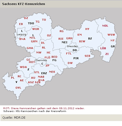 kfz landkarte